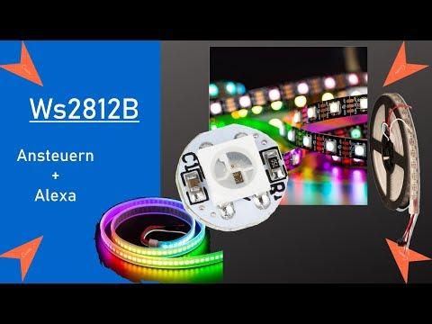 Arduino WS2812B Neopixel RGB LED Streifen - Alexa Mit Esp8266