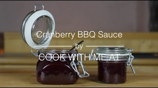 Cranberry Bbq Sauce - Cook With Me.at
