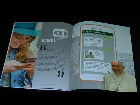 Presentaron Wabot-Papa Francisco para acceder a sus mensajes a través de Whatsapp