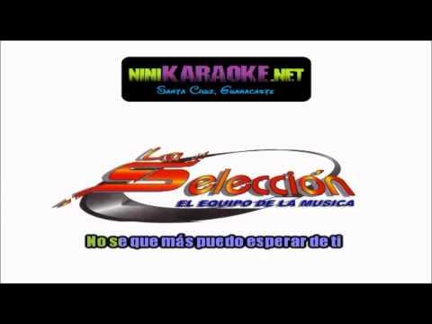 Con el viento a tu favor-karaoke- la seleccion