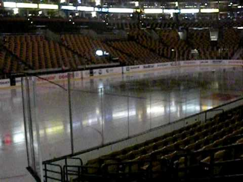 me alone in the boston garden arena!