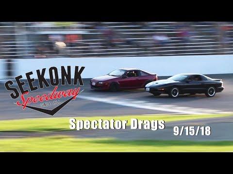 Seekonk Speedway Spectator Drags 9/15/18