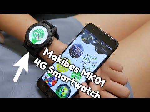 Makibes MK01, the Best Budget 4G Network Sport Smartwatch