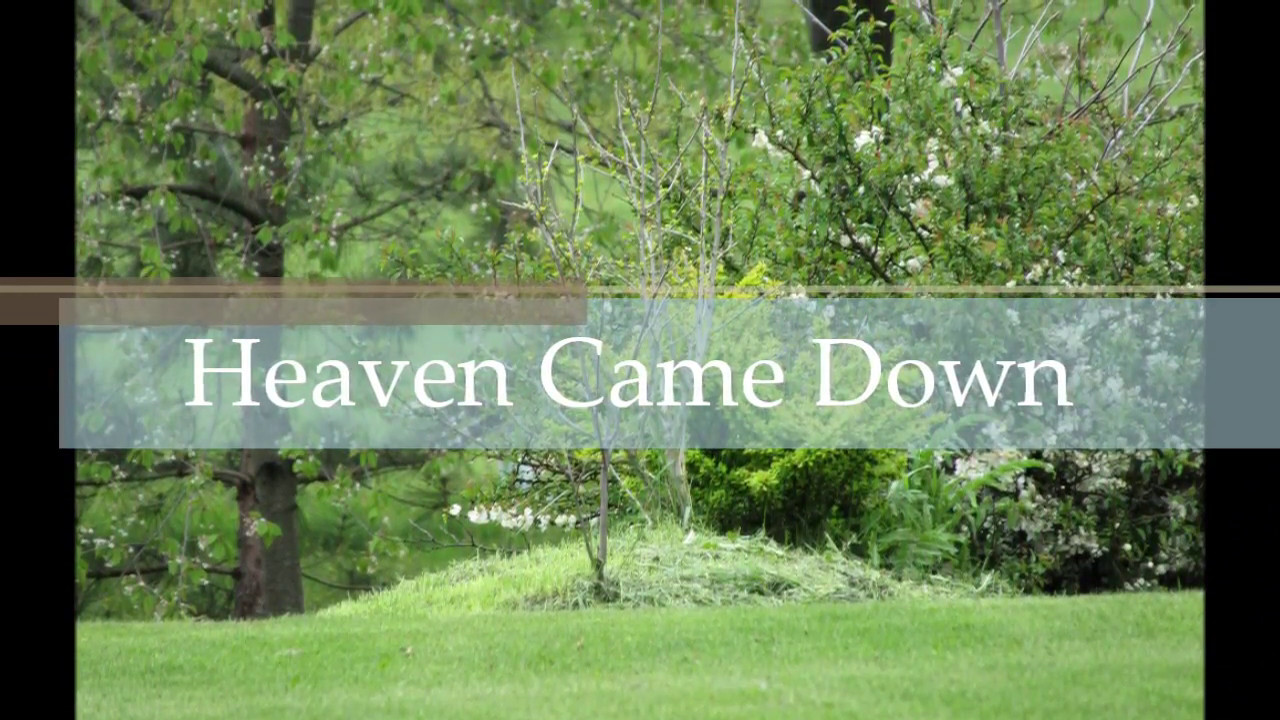 Heaven Came Down On The Guitar Hymn Gospel Country Bluegrass Song