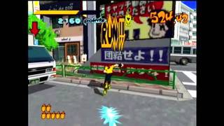 Classic Capture - Jet Grind Radio (Dreamcast)
