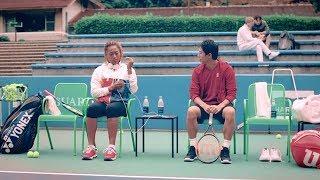 大坂なおみ選手、錦織圭選手とCM初共演 「少し恥ずかしかったし、緊張も」 錦織圭 動画 30