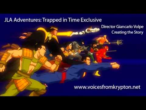 JLA Adventures: Trapped in Time - Creating the Story