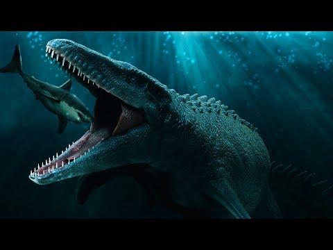 MOSASAURUS: Nuevas imágenes y NO ha escapado de su recinto - Jurassic World Fallen Kingdom