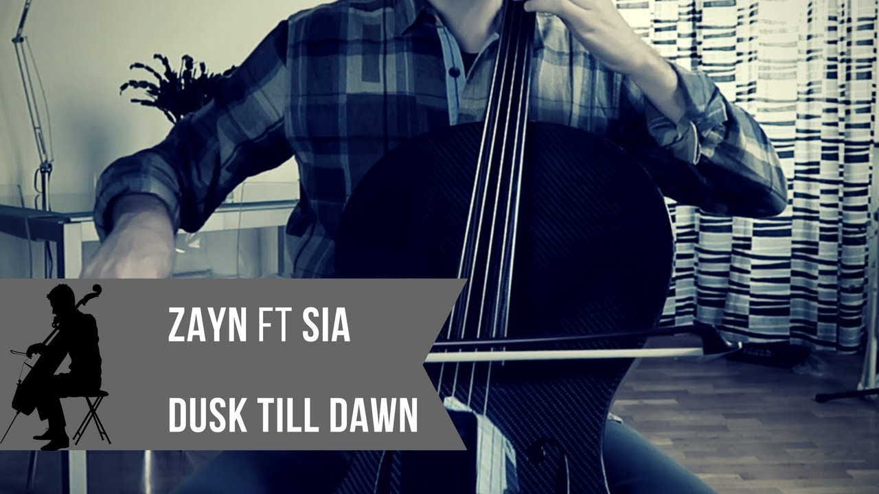Zayn - Dusk Till Dawn ft  Sia for cello and piano (COVER)