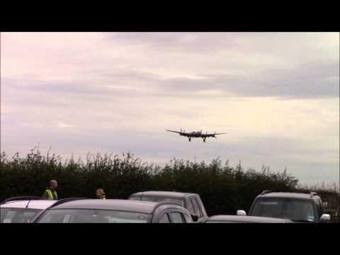 RAF WADDINGTON LANCASTER BOMBERS x 2 PLUS VULCAN 21/8/14