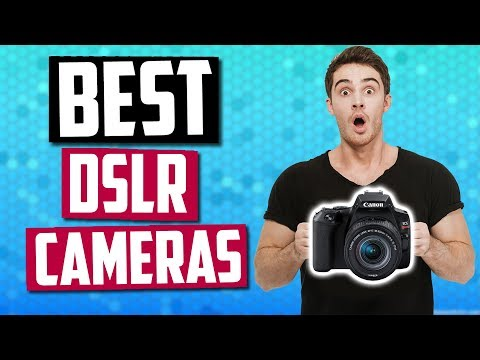 Best DSLR Cameras In 2019 - For Photography & Video!