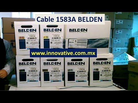 Cable 1583A Belden, Cable UTP Categoria 5e, Azul, Gris, Cable 1583 A