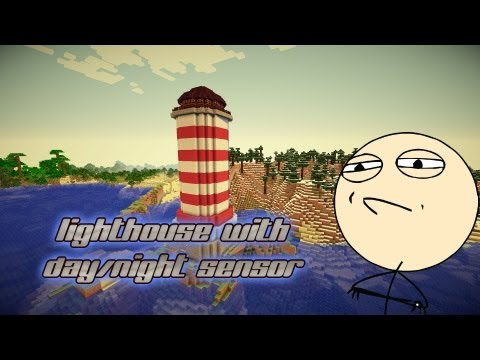 Challenge accepted - Lighthouse with lamps & day/night sensor