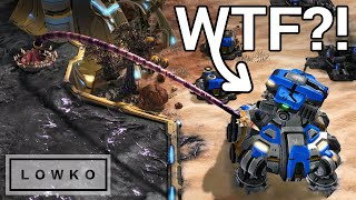 StarCraft 2: PLANETARY FORTRESS vs PROXY NEXUS! (Crazy Viewer Games)