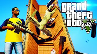 GTA 5 LUCKIEST AVALANCE SURVIVAL GTA Online Funny Moments