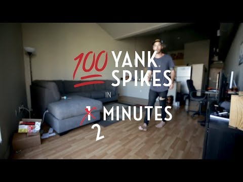 100 Yank Spikes with Tj Kolesnik