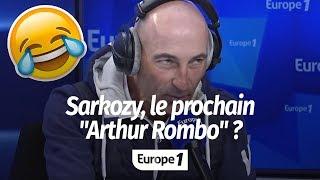 """SARKOZY VEUT """"ÊTRE UN GRAND AUTEUR COMME ARTHUR ROMBO"""" (CANTELOUP)"""