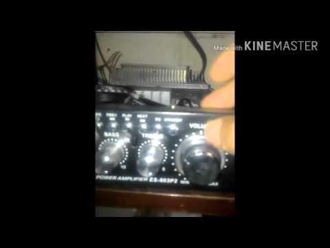Cara setting volume  suara burung walet panggil da