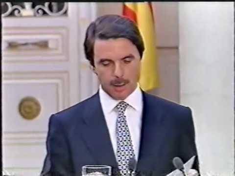 Aznar - Clinton, Palacio de la Moncloa (1/3)