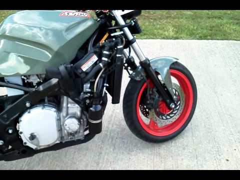 the bike cbr1000f custom - youtube
