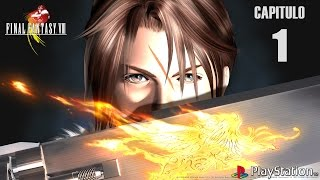 Final Fantasy VIII (Gameplay en Español, Ps1) Capitulo 1 Jardin de Balamb