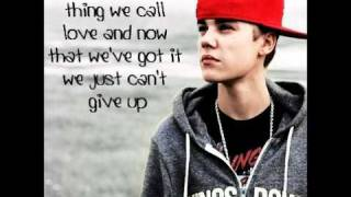 Justin Bieber ft. Jessica Jerrel Overboard lyrics