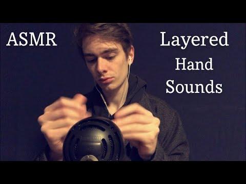 ASMR Layered Hand Sounds    Layered ASMR Sounds    Snapping & Reiki ASMR    Daily ASMR