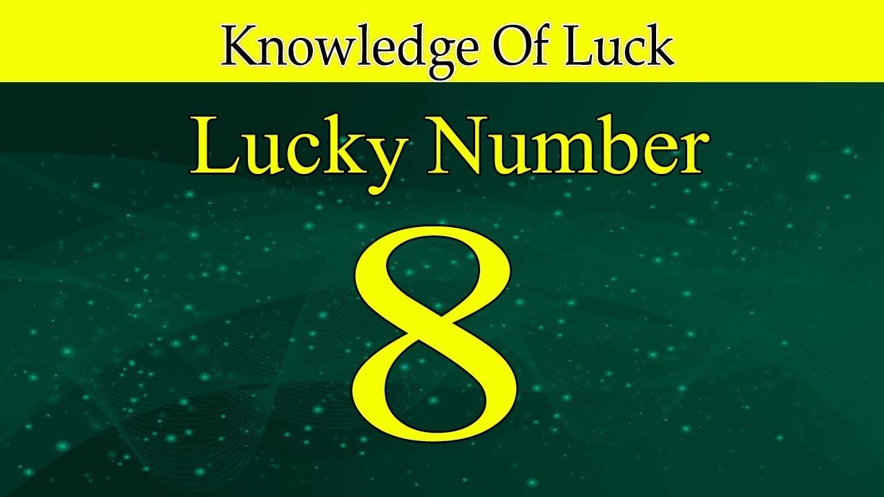 LUCK NUMBERS    8 URDU/ HINDI ONLINE لکی نمبر :8