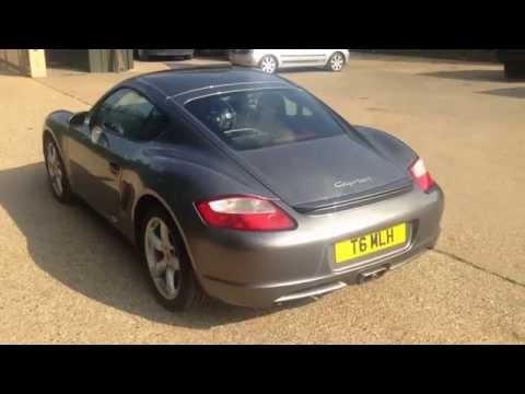 Porsche Cayman tiptronic walk around video