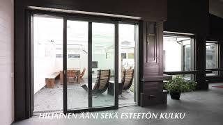 Ikkunatehdas Lasivuorimaa - Nostoliukuovi