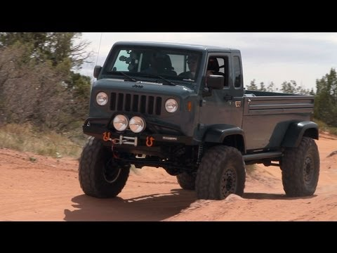 Jeep Mighty Fc Concept Storms Moab The Downshift Episode