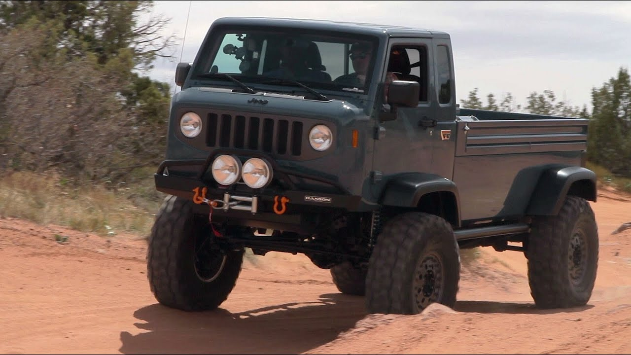Jeep Mighty Fc >> Jeep Mighty Fc Concept Storms Moab The Downshift Episode 11 Youtube