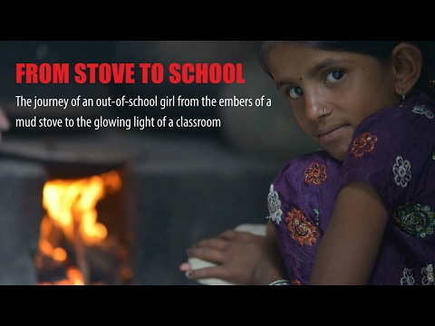 Prachi's Journey from the Stove to School!