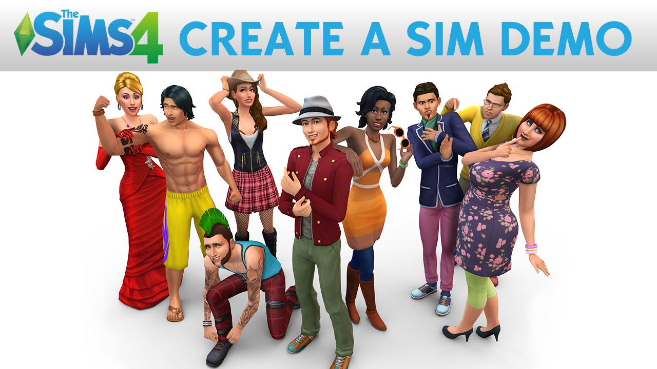 Create Your Sim Demo The Sims 4 Official Site