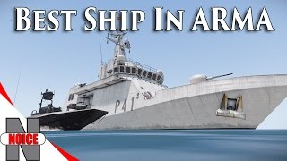 BEST SHIP IN ARMA 3!!! Fully Textured - FFAA ARMA 3 Mod