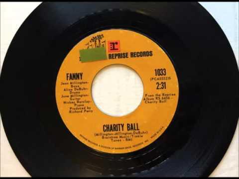 Charity Ball , Fanny , 1971 Vinyl 45RPM