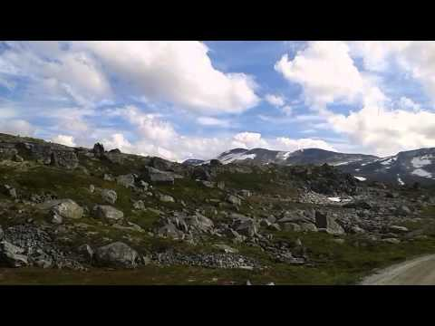 Old road Stryn - Geiranger and Dalsnibba up to 1500m & small accident