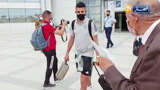 الخضر يصلون تونس تحسبا لمواجهة نسور قرطاج الودية