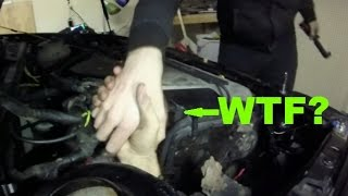 The gti has some pretty serious rust issues, and we tackled what might be one of worst cases strut tower i have ever seen, this makes dsm...