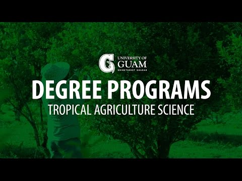 Degree Programs | Tropical Agriculture