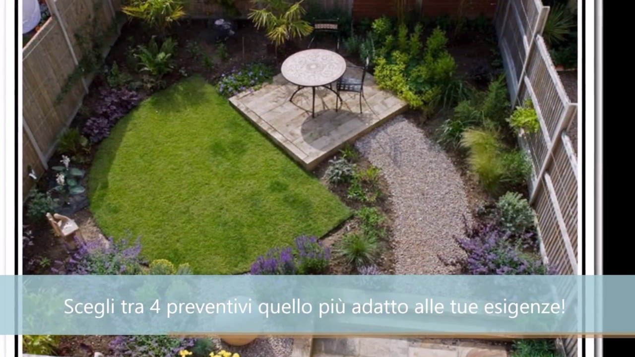 Idee per giardino foto edilnet it youtube for Bordi per aiuole fai da te