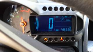 Chevrolet Aveo ltz 2013. Cold start -20c(, 2014-01-26T05:24:39.000Z)