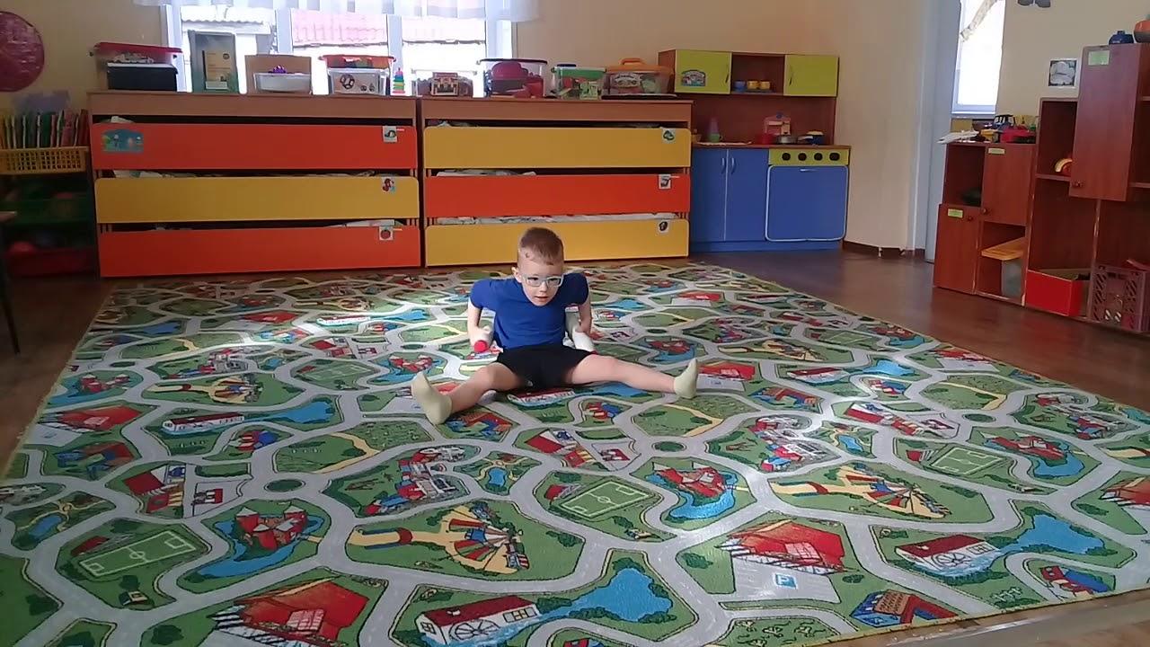Комплекс упражнений для детей 4-5 лет - YouTube