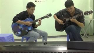 Mưa Trên biển vắng - hoa tau guitar- phaolo music