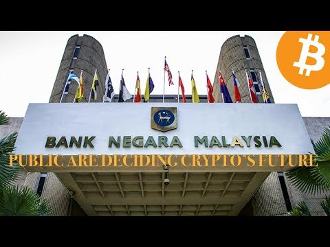 Malaysia's Bank Negara   Will Let The Public Decide On The Future Of Cryptocurrency   NO BAN