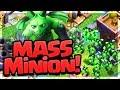 MASSIVE MINIONS! All Beta Minion Attacks on Clash of Clans Builder Hall Bases!