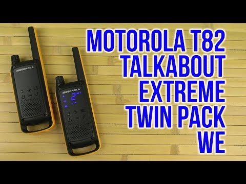 Распаковка Motorola Talkabout T82 Extreme Twin Pack WE B8p00811ydemag