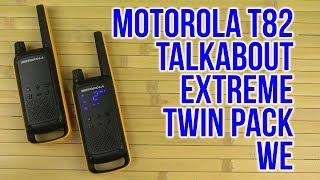 Розпакування Моторола говорити T82 крайні дві пачки ми B8P00811YDEMAG