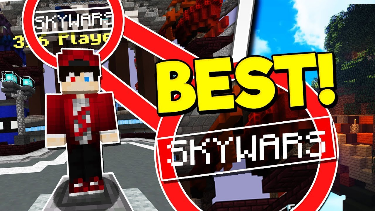 I'm the BEST SKYWARS PLAYER in MCPE