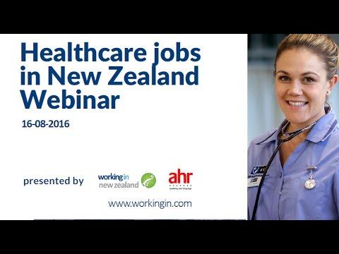 Webinar - Healthcare Jobs In New Zealand 2016